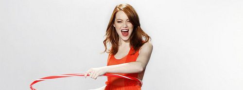 Best HD Emma Stone 2012 facebook cover